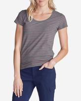 Eddie Bauer Women's Lookout Short-Sleeve T-Shirt - Stripe