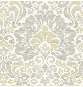 "Garden of Eden Brewster Home Fashions Damask Wallpaper - 396"" x 20.5"" x 0.025"""