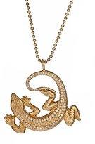 NY Lizard Pendant Necklace