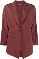 Romeo Gigli Pre Owned 1990s notched lapel blazer