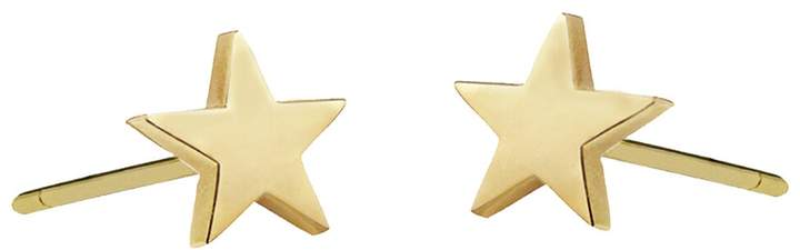 Jennifer Meyer Mini Star Stud Earrings - Yellow Gold