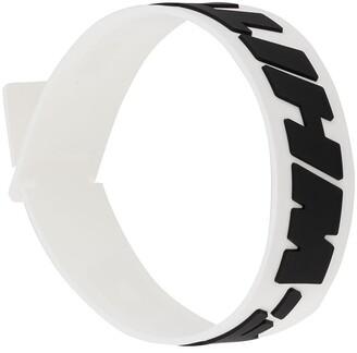 Off-White Raised Logo Bracelet