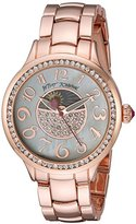 Betsey Johnson Women's Quartz Metal and Alloy Casual Watch, Color:Rose Gold-Toned (Model: BJ00537-03)