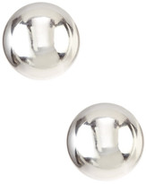 Candela 14K White Gold 7mm Ball Stud Earrings