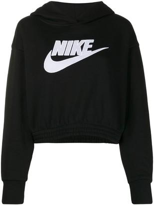 Nike Cropped Hooded Sweatshirt