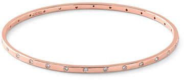 Ippolita 18K Rose Gold Diamond Ellipse Bangle