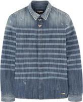 DSQUARED2 Striped chambray shirt