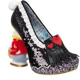 Irregular Choice Alice In Wonderland White Rabbit And Hearts Women's Heel