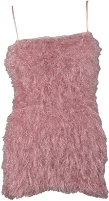 Laneus Fur Effect Dress