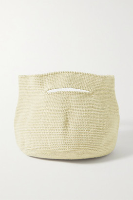 LAUREN MANOOGIAN Soft Baby Bowl Pima Cotton And Linen-blend Tote - Neutral