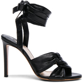 Altuzarra Leather Zuni Heels in Black.