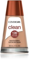 Cover Girl Clean Liquid Makeup, Classic Beige N 130, 1.0-Ounce Bottle