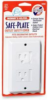Bed Bath & Beyond Mommy's HelperTM White Safe-PlateTM Decorative Outlet Cover