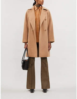 Max Mara Baleari relaxed-fit wool coat
