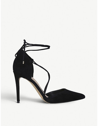 Aldo Finsbury pointed-toe suede courts