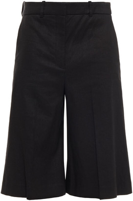Joseph Linen-blend Twill Shorts