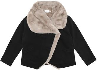 Bonpoint Fleece and cotton jacket