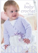 Sirdar The Baby Crotchet Knitting Pattern Book