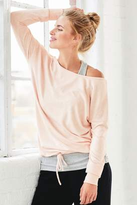Next Womens Pink Cosy Layer Top - Pink