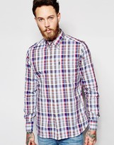 Barbour Oxford Shirt With Check Tailored Slim Fit