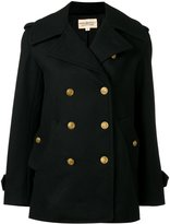 Denim & Supply Ralph Lauren double-breasted peacoat - women - Polyester/Acetate/Wool - L