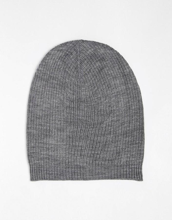 Asos Slouchy Beanie Hat