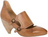 Max Studio Beau Burnished Leather Double Buckle Mary Janes