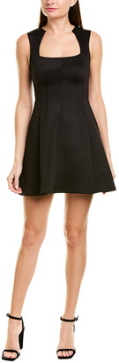 Yigal Azrouel Square Neck Sheath Dress