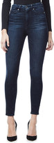 Good American Good Waist Crop skinny ultra high-rise jeans