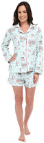 BedHead Long Sleeve Classic Shorty PJ Set