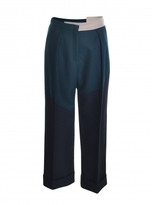 Eudon Choi ROTHKO TROUSERS in Black & Green