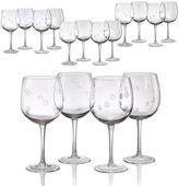 Artland Polka-Dot 16-pc. Wine Glass Set