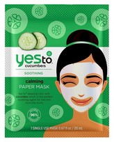 Yes To® Cucumbers Calming Paper Mask - 1 ct