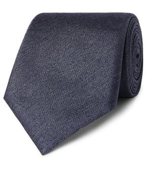 Canali 8.5cm Silk-Jacquard Tie
