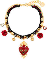 Dolce & Gabbana Sacred Heart choker necklace