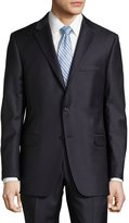 Hickey Freeman Milburn II Solid Two-Piece Suit, Navy