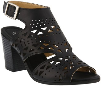 Spring Step Leather Ankle Strap Sandals - Rosemarie