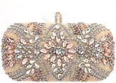 Nina Crystal Embellished Minaudiere Handbag - Gelsey
