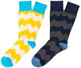 Etiquette Clothiers Everest Stripes Socks (2 PK)