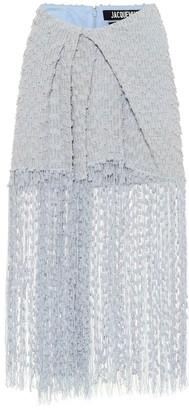 Jacquemus La Jupe Capri tweed skirt