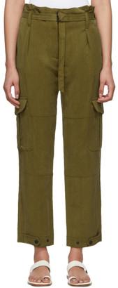Rag & Bone Green Tilda Cargo Trousers