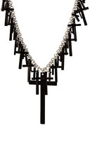 Asos Multi Cross Statement Necklace