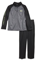 Under Armour Toddler Boy's Wordmark Track Jacket & Pants Set