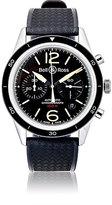 Bell & Ross Men's BR 126 Sport Heritage Watch-BLACK