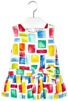 Mayoral Girls Blocks-Of-All-Sizes-Colorful Dress