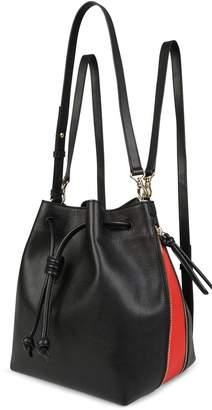 Esin Akan Notting Hill - Black & Poppy - Backpack