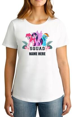 My Little Pony TWIDLA Personalised T-shirts Women's Squad Personalised Cotton T-Shirt