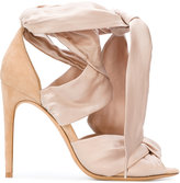 Alexandre Birman Katherine sandals - women - Silk/Leather/Suede - 36