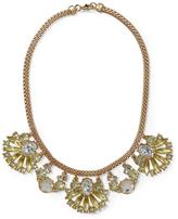Free People Pim + Larkin Yellow Cabochon Necklace