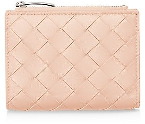 Bottega Veneta Mini Bi-Fold Leather Wallet